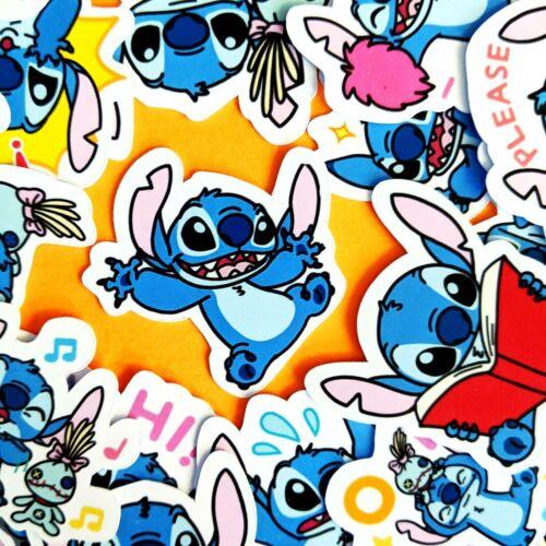 35 Cute Stitch Disney Stickers Journal, Diary Stickers, Scrapbooking [USA]