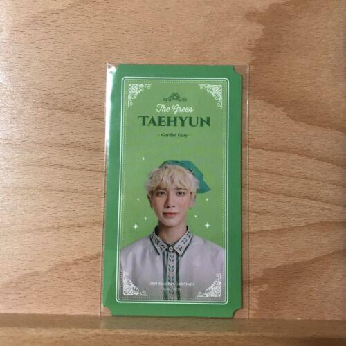 Taehyun Official Fairy Profile Card TXT 2021 Season s Greeting - $12.00