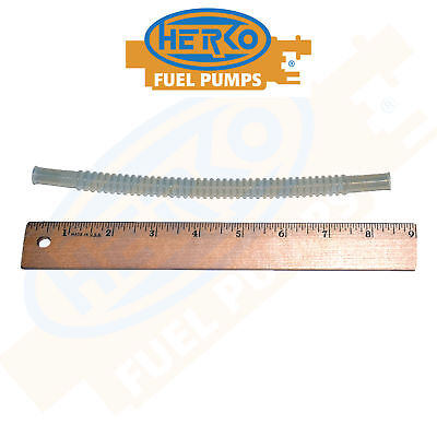 Clear Flexible Fuel Pump Assembly Module In Tank Hose Line 8.5 inches Long