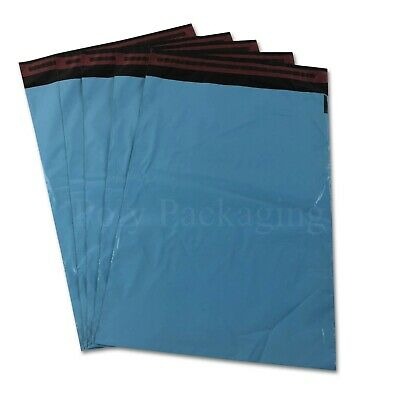 20 x BABY BLUE Mailing Bags 10x14