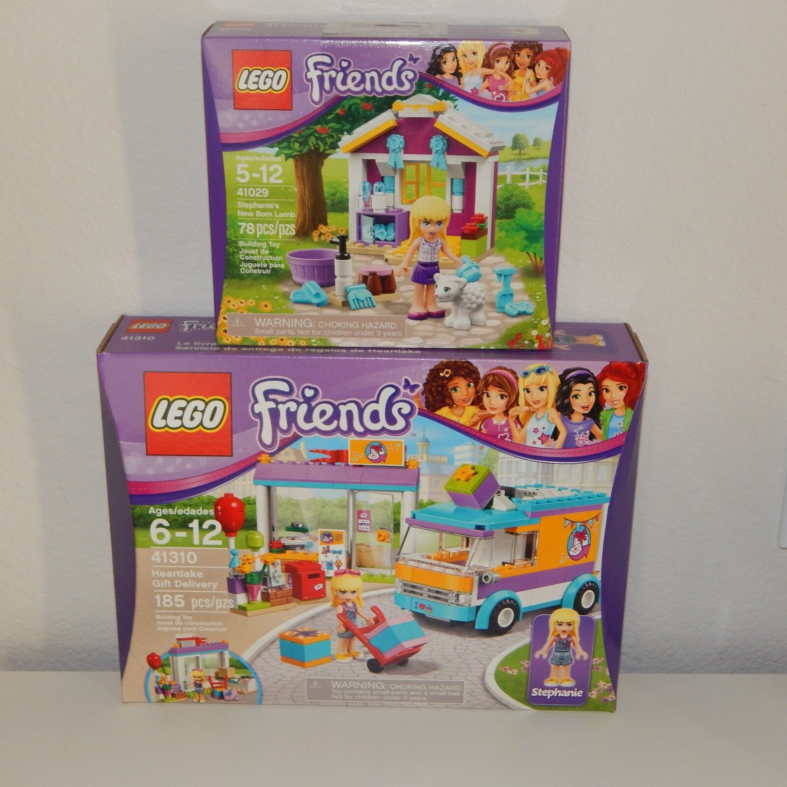 LEGO Friends 41310 Heartlake Gift Delivery & 41029 Stephanie