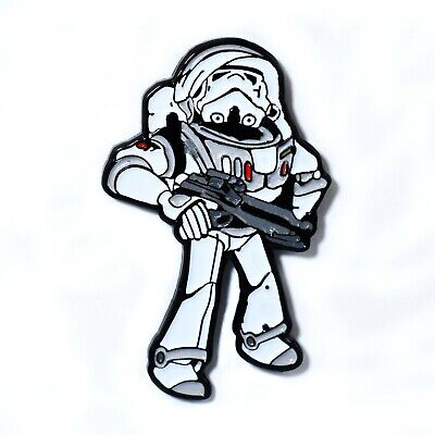 Stars Wars Stormtrooper Buzz Lightyear Suit Collectible Pendant Lapel Hat Pin