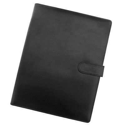 Multi-use A4 Conference File Documents Folder Pu Leather Cover For Business