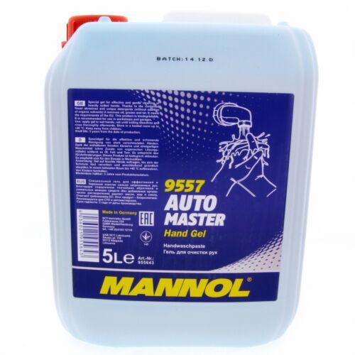 5L MANNOL 9557 Automaster Hand Gel Reiningsgel Händereinigung Waschmittel