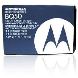 NEW OEM Motorola BQ50 Phone Battery EM28 W175 W233 W230 VE240 EM330 W376 W450
