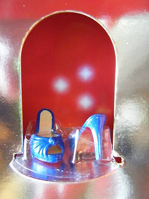 CHRISTIAN LOUBOUTIN BARBIE DOLL SHOES WITH COA *NEW*
