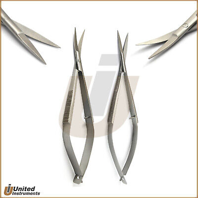 Micro Surgery Noyes Scissors Straight Curved Dental Surgical Dissecting Shears
