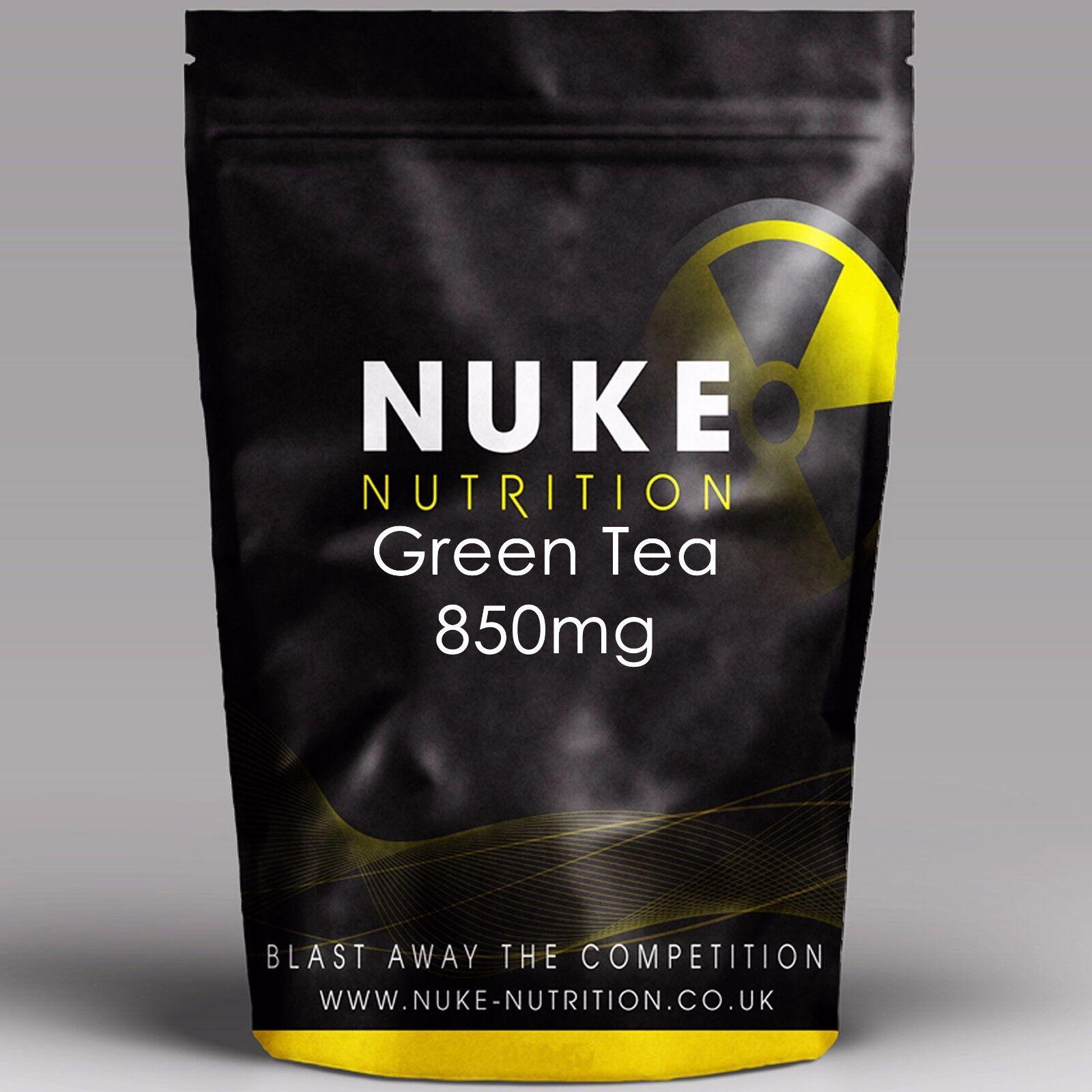 850mg Estratto di tè verde compresse - Bruciatore dei grassi - Perdita del peso