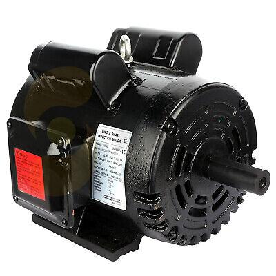 Air Compressor Electric Motor 7.5 Hp 3450 Rpm 184t Frame 208-230 Volt 1 Phase