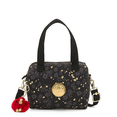 Kipling Keeya Shoulder Bag Grey Gold Fl