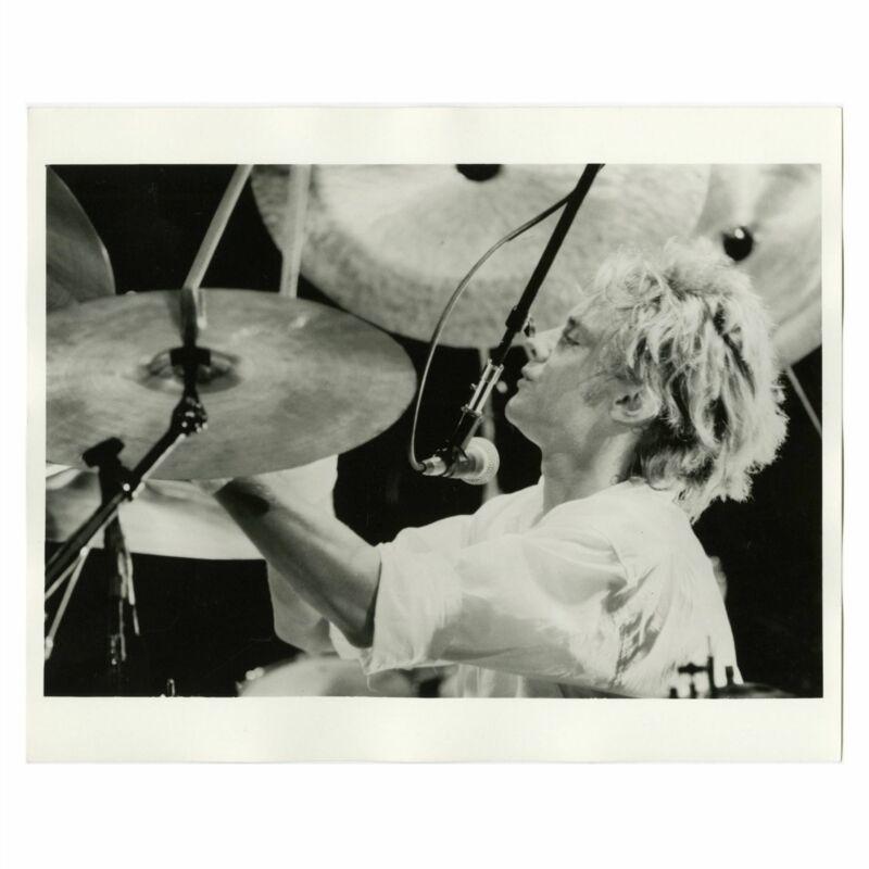 Roger Taylor Queen Concert 1980s Print (UK)