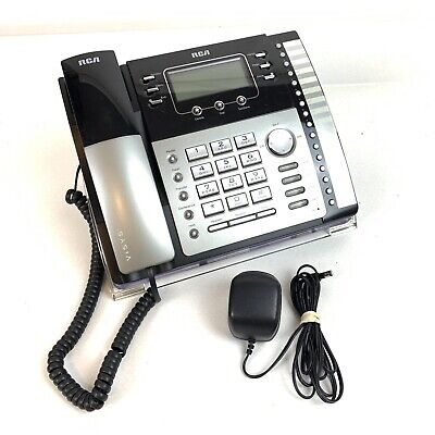 Rca Visys 4-line Model No.25423re1-a Business Office Phone Telephone