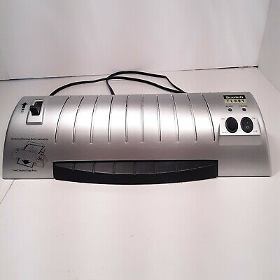 Scotch Thermal Laminator - 2 Heat Settings Jam Release Lever Tested
