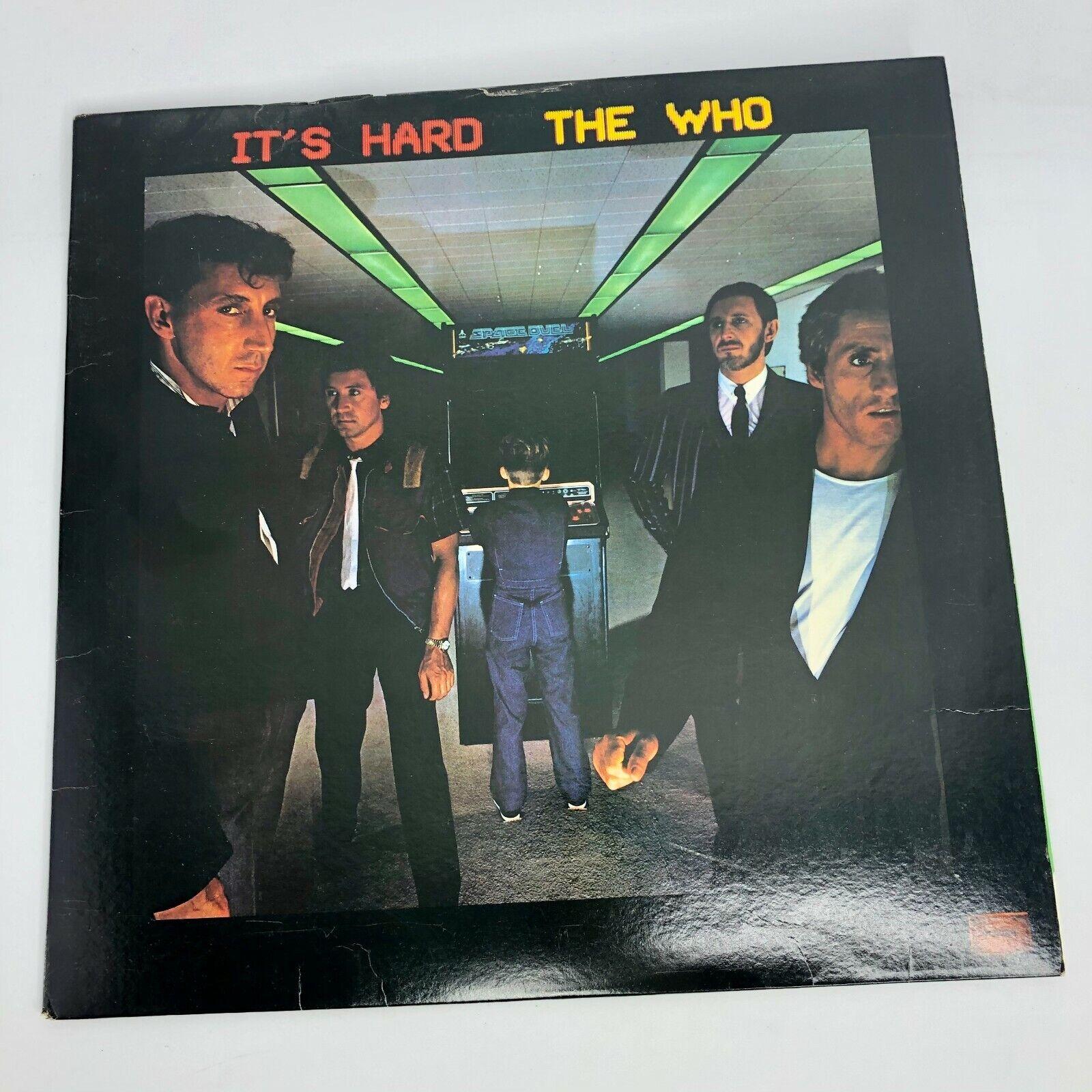 The Who - It s Hard LP 1982 - Warner Bros Vinyl LP Album 1-23731 Record  - $5.99