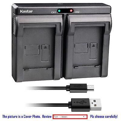 Kastar Battery Dual USB Charger for Nikon EN-EL23 MH-67 & Nikon Coolpix P900s
