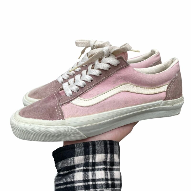 Vintage Made In USA Van's Old Skool Shoes Pink **Not Sure About Size**