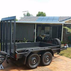 NEW >EXTREME H/DUTY PLANT MACHINERY OR  RIDE ON MOWER TRAILER Brisbane Region Preview