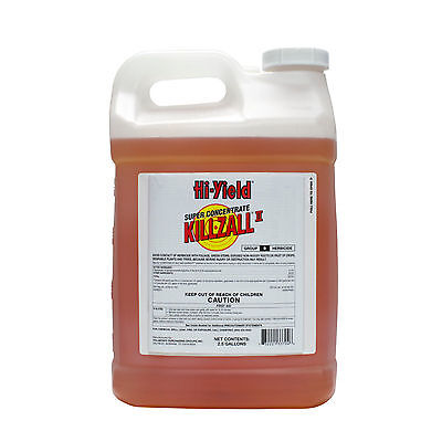 KILLZALL Weed Grass Killer 2.5  gallons ...