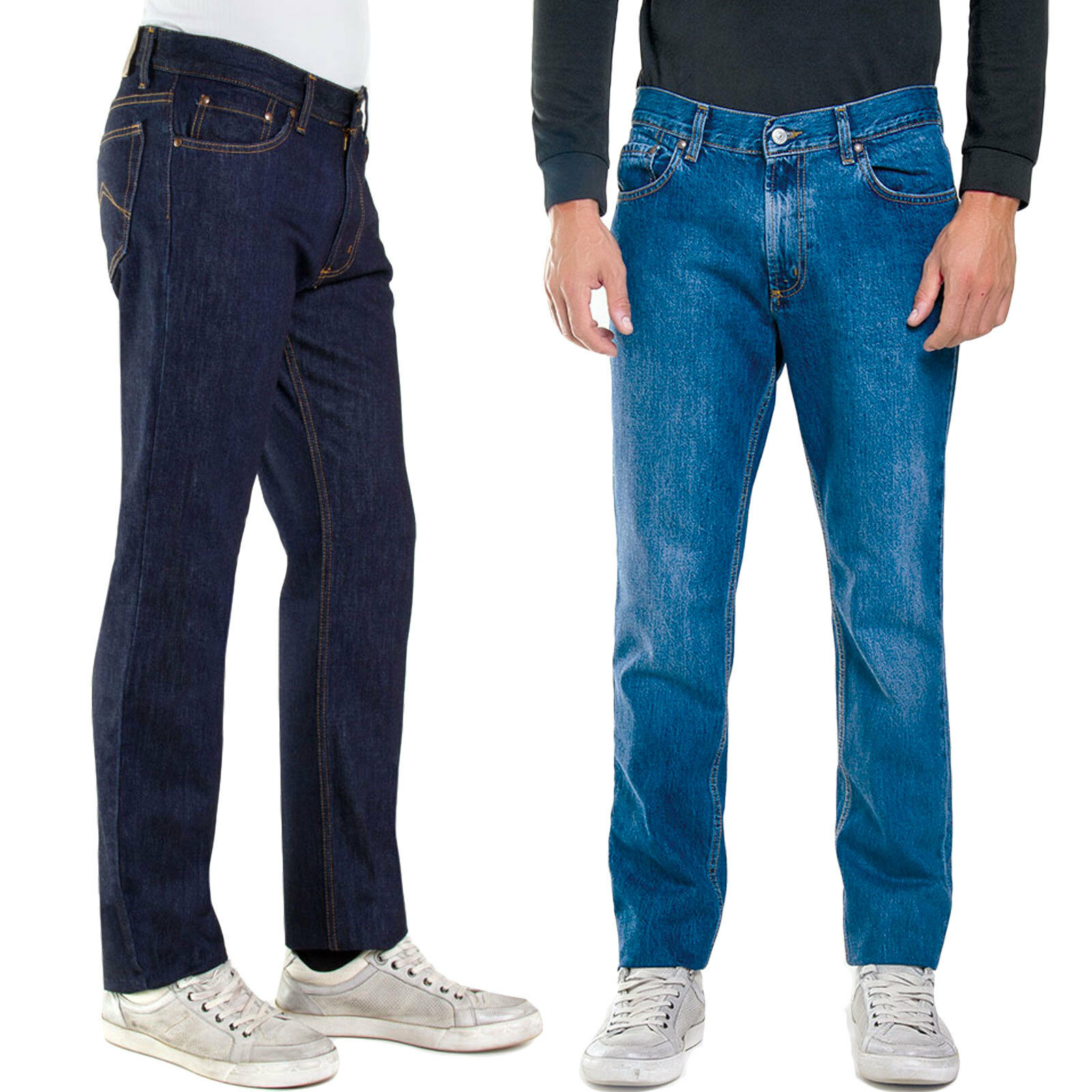 Dettagli su Carrera Jeans uomo pantaloni vita regolare 4 stagioni denim regular fit 700 1021