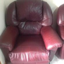Full Leather Lounge suite St Marys Penrith Area Preview