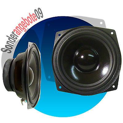 Dynavox 130mm Basslautsprecher 8 Ohm Tieftöner Lautsprecher 130 mm Bassbox BASS