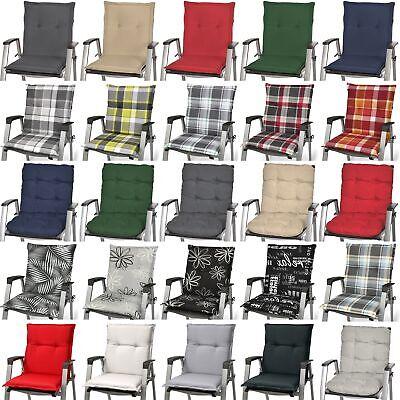 Niedriglehner Auflagen Sitzauflagen Gartenstuhl Sitzkissen Polster Kissen Sessel