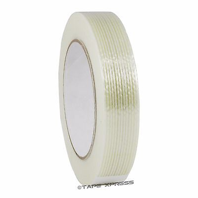 """1"""" x 60 yd Filament Reinforced Strapping Fiberglass Tape 3.9 mil Free Shipping"""