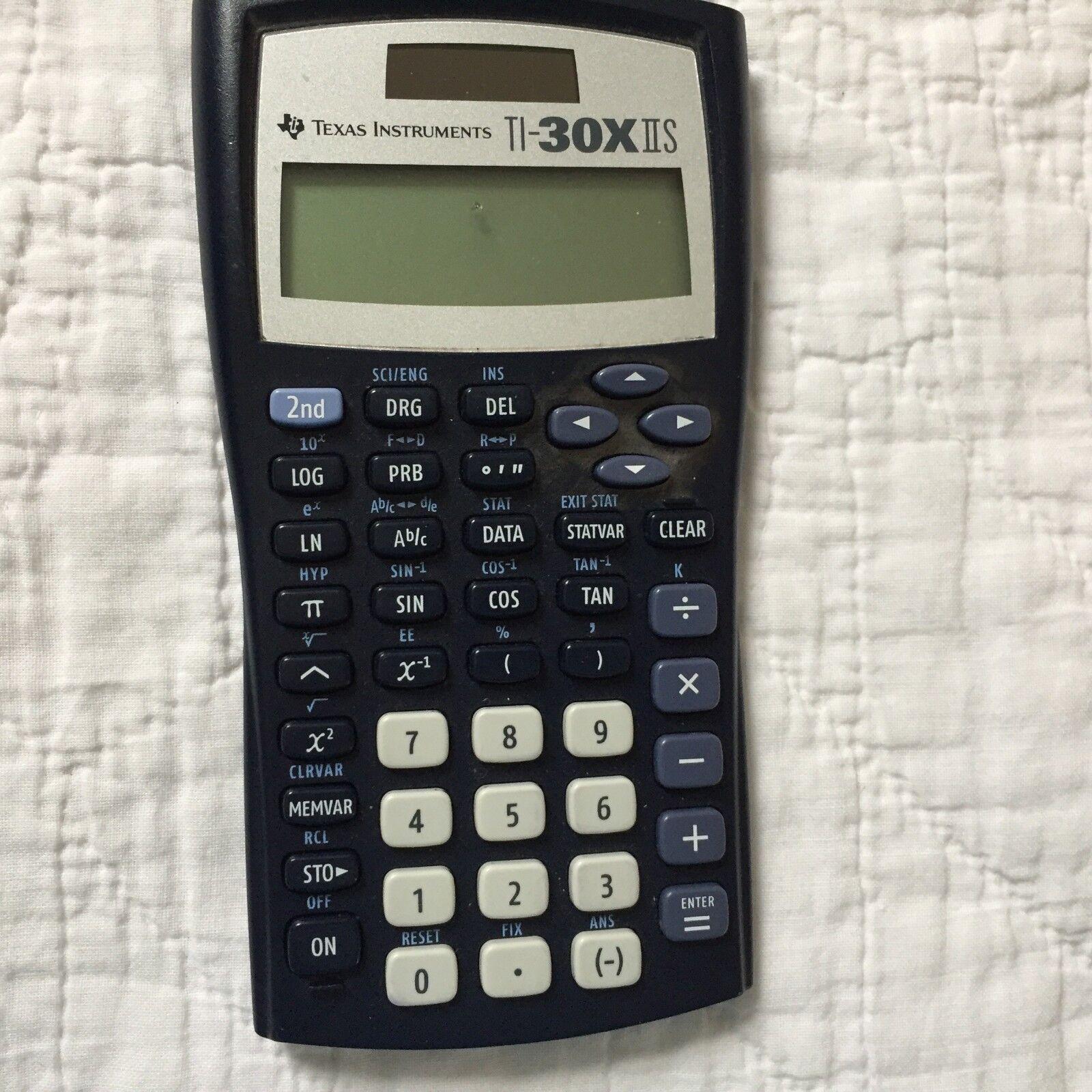 Texas Instruments Scientific Calculator  TI-30X IIS