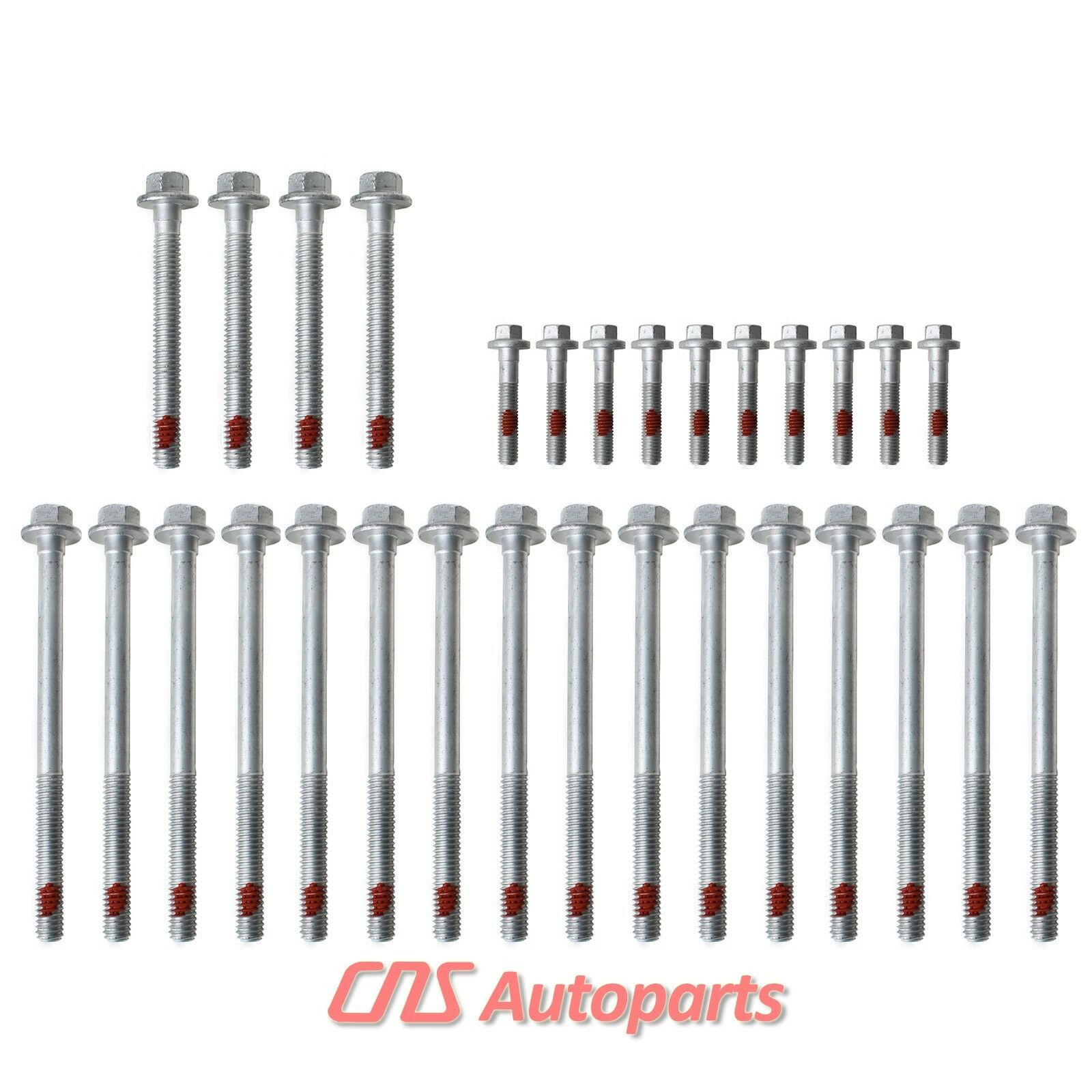 Cylinder Head Bolts Set: 1st Design Cylinder Head Bolt Set GM Chevrolet 4.8L 5.3L 5