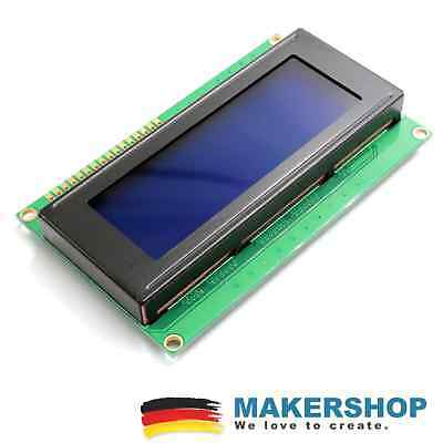 LCD Display Modul 20x4 Zeichen LCD2004 blau Arduino Raspberry Pi 2004 Lcd-display-modul