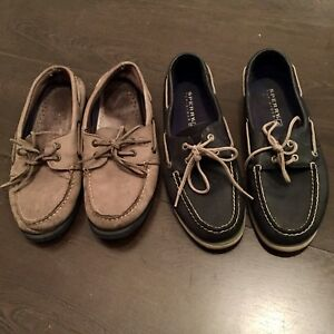 2x Sperry Top-Sider - 9 and 9.5