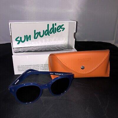Sun Buddies Eyewear Sunglasses Model Akira Moody Blues NEW UV Protection P2