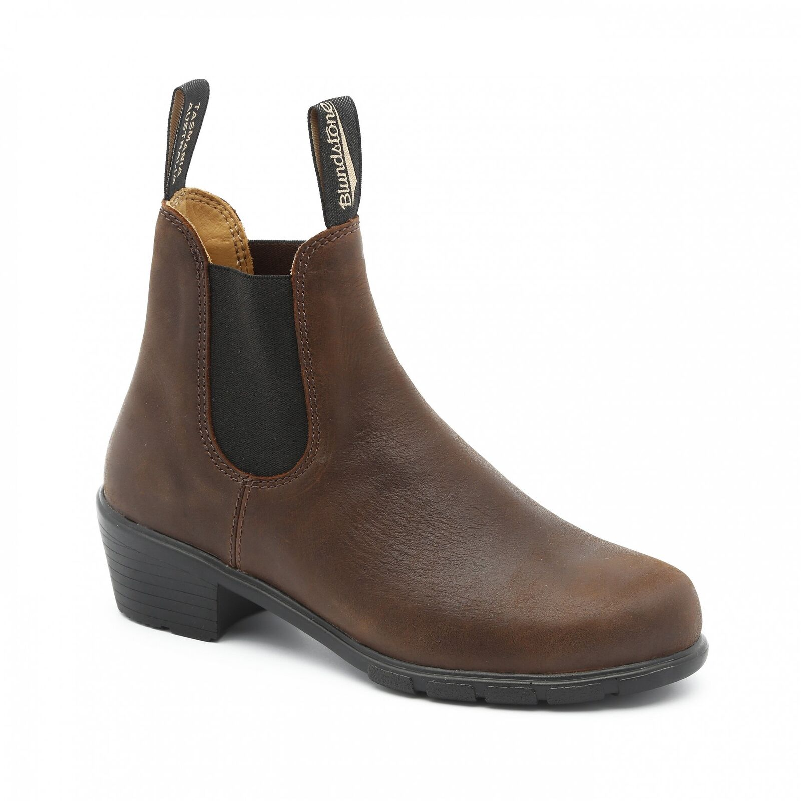 NEW Blundstone Style 1673 Brown Heeled Boot Leather For Women 1