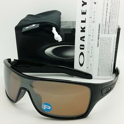 Used, NEW Oakley Turbine Rotor sunglasses Black Tungsten Polarized 9307-06 AUTHENTIC for sale  Shipping to Canada