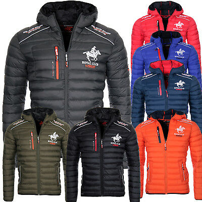 Geographical Norway Herren Winter Jacke Steppjacke Bomberjacke warm gesteppt Neu ()