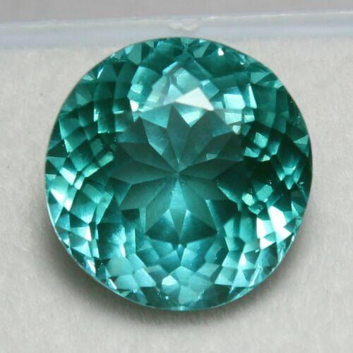 10.50 Ct Certified Natural Blue Copper Bearing Paraiba Tourmaline Diamond Cut