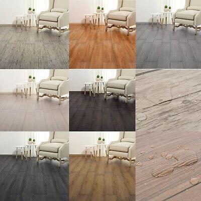 18 PVC Laminat Dielen 5,26m² Fußboden Vinyl Bodenbelag für Küche Bad Wohnzimmer