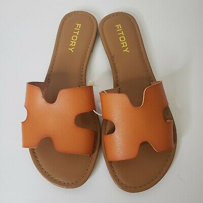 Fitory Burnt Orange Sandals