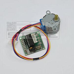 Motore-passo-passo-con-driver-ULN2003A-stepper-shield-arduino-pic-ART-CN02