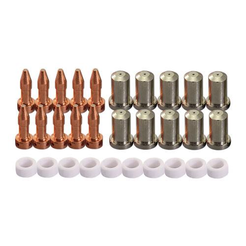 PT-23 27 Plasma Cutting Consumables Electrode 33366XL 33367 33369 50A Tip 30pcs