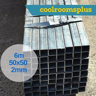 50x50mm 2mm wall Galvanised Steel Tube 6m long or cut to size Dandenong South Greater Dandenong Preview
