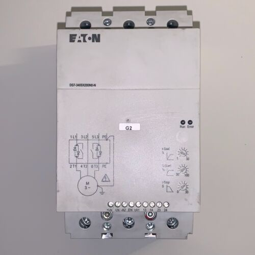 Eaton DS7 Soft Starter Controller (#DS7-340SX200N0-N)