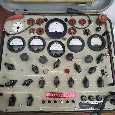 Tv-2 Au Military Tube Tester Excellent Condition Guaranteed To Work