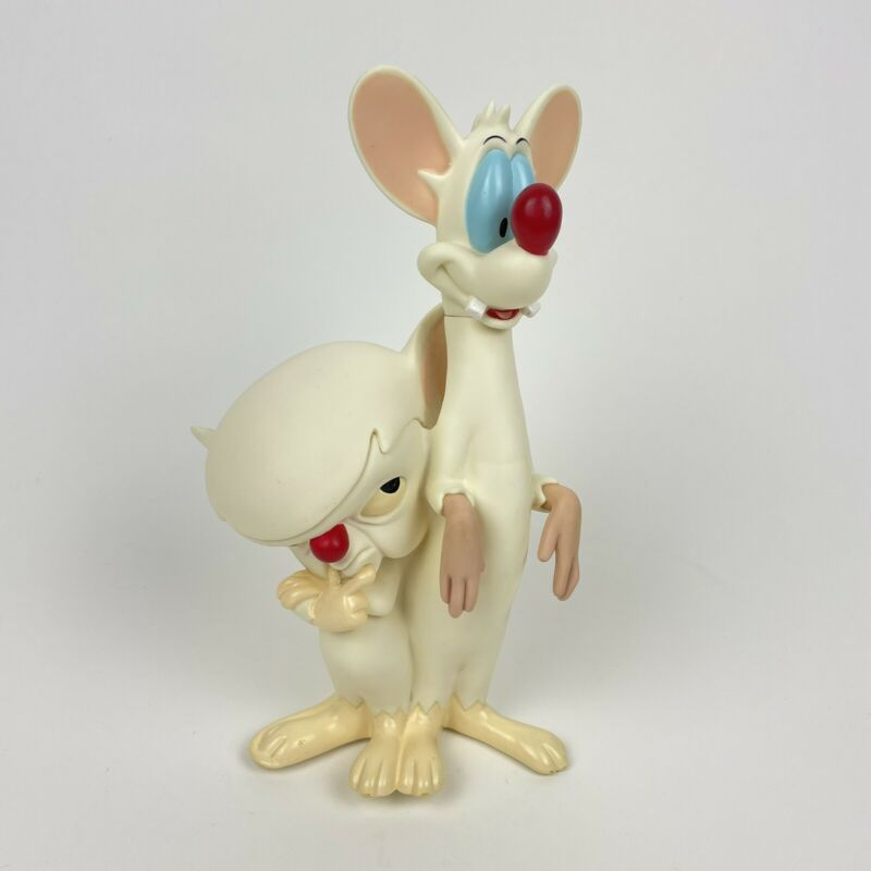 Pinky And The Brain 1995 Warner Brothers Character Statue Rare Vintage