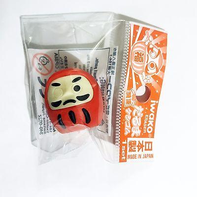 消しゴム Gomma Iwako - DARUMA Rosso - Made in Japan - Import direct