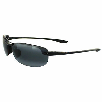 Maui Jim Sonnenbrille Makaha Readers G805-0215 Schwarz Grau Polarisiert +1.5