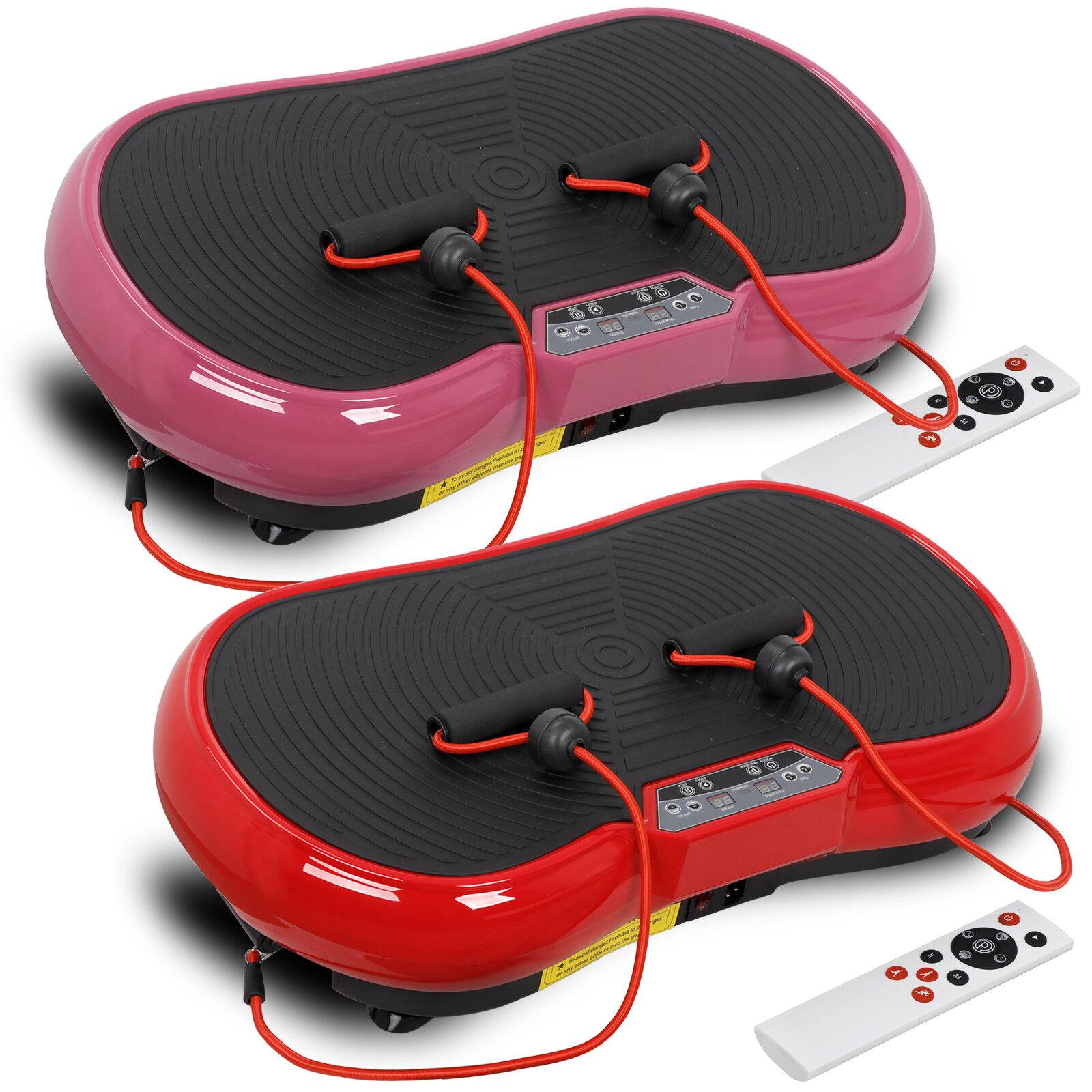 Ultrathin Crazy Fit Massage Vibration Platform Machine Fitness Gym W/Bluetooth Health & Beauty