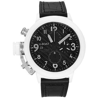 U-Boat Flightdeck Chronograph Full Ceramic Automatic Men's Watch 7095 for sale  Lynchburg