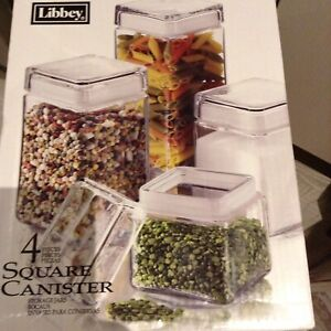 Libbey glass containers