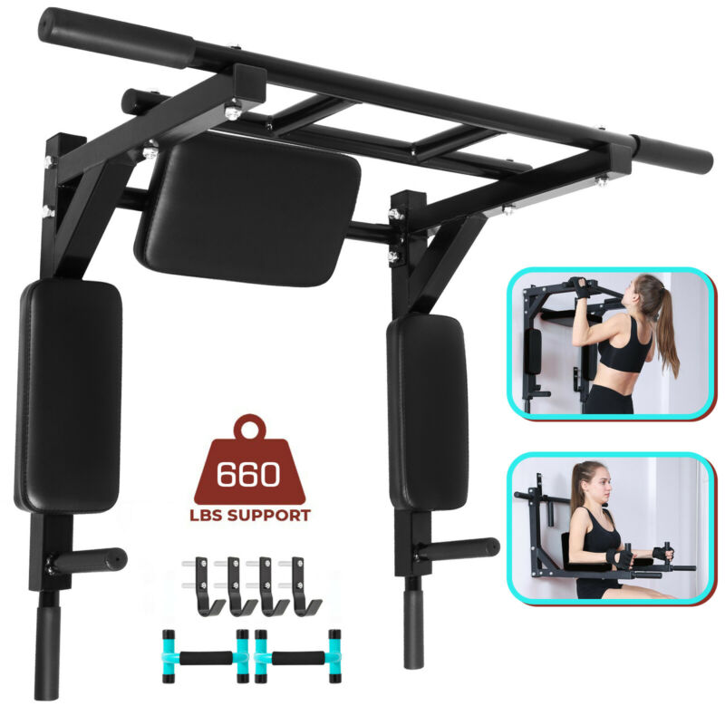 wall mounted pull up bar Power Tower Set Workout 2 in 1 COMPLETE SPECIFICATIONS